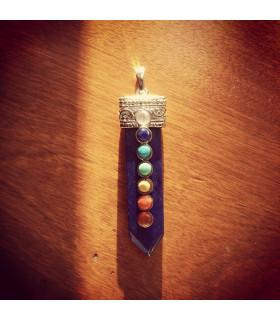 Lapis Lazuli Pendulum Chakra Gemstone Pendant