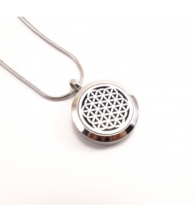 Flower of Life Aromatherapy Locket 25mm