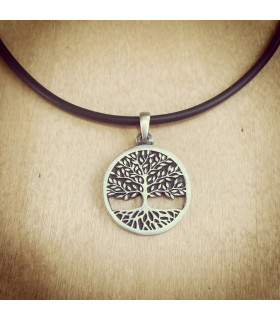 Tree of Life Carved Pendant