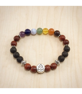 Triquetra Chakra Rosewood - 8mm