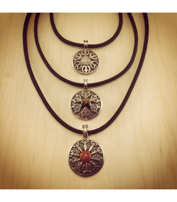 Pewter Goddess Necklace