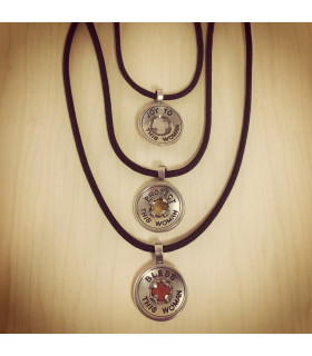 Pewter Goddess Necklace