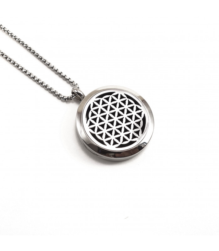Flower of Life Aromatherapy Locket 30mm