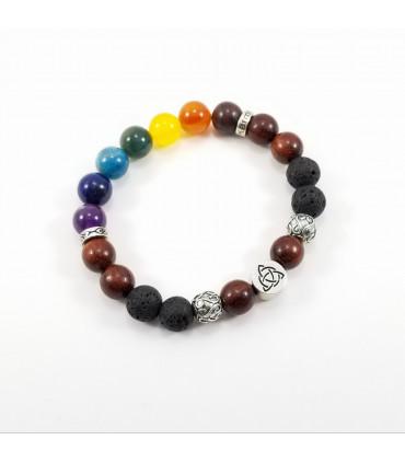 Triquetra/Infinity Chakra Bracelet - 10mm