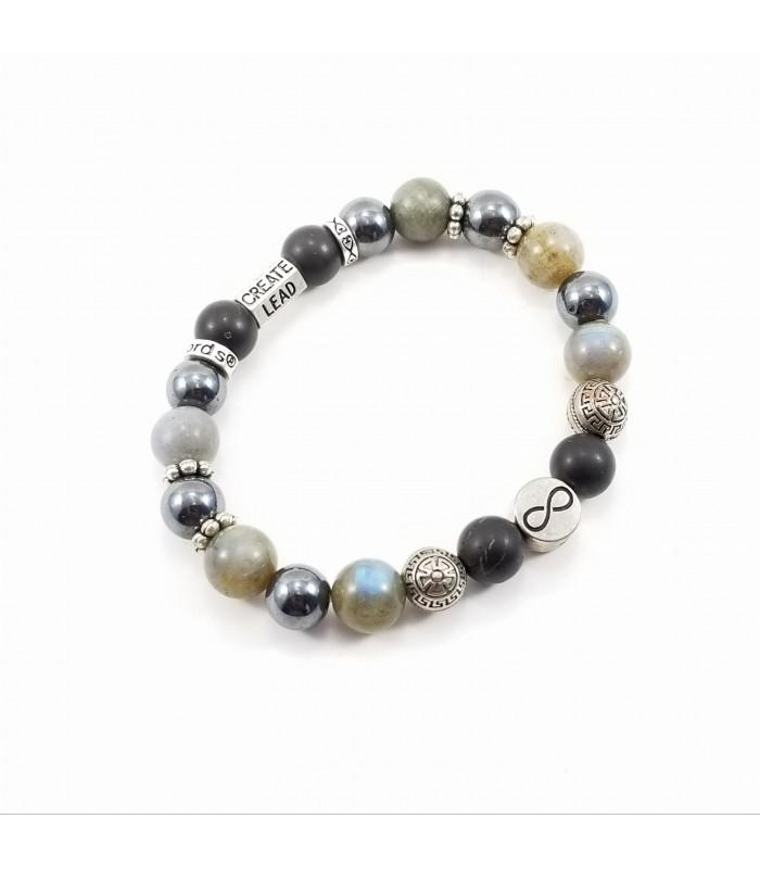 Men's/Unisex Triquetra Infinity Protection Bracelet