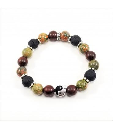 10mm Balance, Love, Healing Bracelet