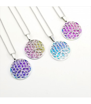 Lotus-Flower of Life Necklace