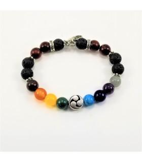 Yin & Yang Chakra SSHD Bracelet - 8mm