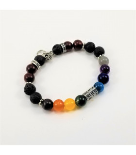 6 Words Chakra SSHD Bracelet - 8mm