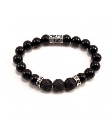 Six Words, Protection & Grounding Bracelet - 8mm