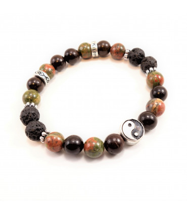 Balance, Love, Healing Bracelet - 8mm