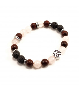 Peace, Resilience & Love Bracelet - 8mm