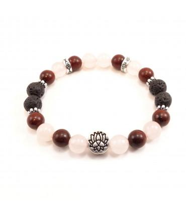 Peace, Resilience & Love Bracelet - 8mm