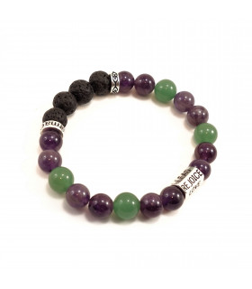 Six Words, Peace & Calming Bracelet - 8mm