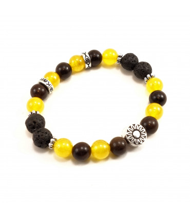 Sunflower Joy Bracelet - 8mm