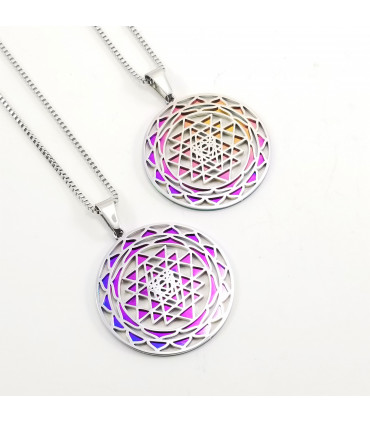 Sri Yantra 2-layer Necklace