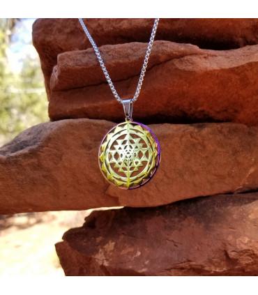 Sri Yantra 2-layer Necklace