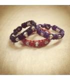 SPIRIT Collection Nylon Beaded Bracelets